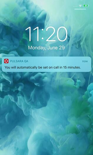 On_call_upcoming_notification_on_lock_screen_cropped